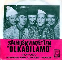Olkabilamo - omslaget til singelen av Salhuskvintetten